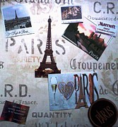Cusine Posters - I Love Paris Poster by Rita Brown