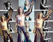Tonight Prints - I Love U IGGY POP Print by Lisa Piper Stegeman