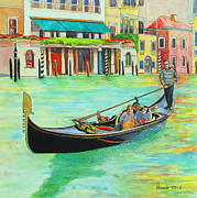 Venice Mixed Media Originals - I Love Venice by Pamela Iris Harden