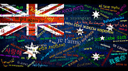 I Love You Australia Print by Denis  Los