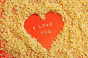 Noodles Photo Prints - I love you Print by Lars Ruecker