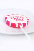 I Love You My Sweet Print by Gynt