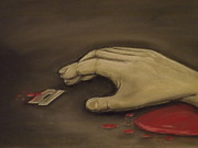 Surrealism Pastels - I Think Ill Commit Suicide - I Cant Quite Say That I Understand It by Jon Gemma