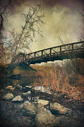 Bridges Digital Art Metal Prints - I Tried to Forget You Metal Print by Laurie Search