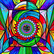 Mandala Paintings - I Trust Myself to Create by Teal Eye  Print Store