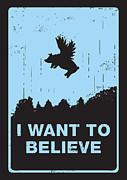 I Want To Believe Print by Budi Satria Kwan