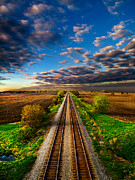 Train Tracks Framed Prints - I Will Return Framed Print by Phil Koch