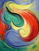 Abstracts Paintings - I Will Supply All Your Needs by Anthony Falbo