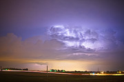 Storm Prints Photo Prints - I25 Intra-Cloud Lightning Strikes Print by James Bo Insogna