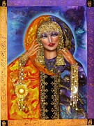 Goddess Mythology Paintings - Ianna Lady of Heaven by Ilene Satala
