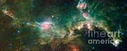Ic 2177-seagull Nebula Print by Science Source