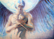 Wings Drawings Originals - Icarus by Juan Jose Espinoza