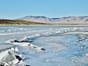 Crowley Lake Art - Ice Berg by Marilyn Diaz