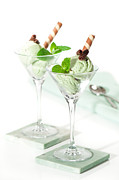 Mint Photos - Ice Cream Dessert by Christopher and Amanda Elwell