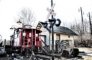 Caboose Photos - Ice Cream Junction by Bill Cannon