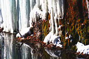 Park Scene Originals - Ice Fall by Gary Gish