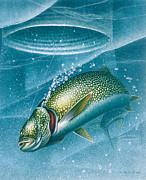 Ice Laker Print by Jon Q Wright