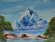 P Dwain Morris - Ice Mountain