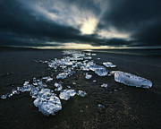 Antony Meadley - Ice on Beach