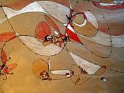 Ice Sailing Print by Nancy Kane Chapman