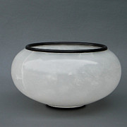 Alabaster Sculptures - Ice Vase by Leslie Dycke