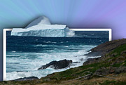 Final Resting Place Digital Art Prints - Iceberg Escape Print by Barbara Griffin