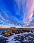 Icebound 6 Print by Bill Caldwell -        ABeautifulSky Photography