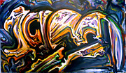 Graffiti Paintings - Iced by Jonathan Ryan