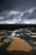 Gravel Road Photo Metal Prints - Iceland After the rain Metal Print by Nina Papiorek