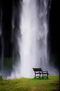 Iceland Waterfall Print by Arie Arik Chen