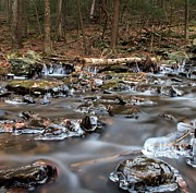 Burr Photos - Icey Stream by Frank Piercy