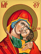 Darrell Ross - Icon Mary and baby Jesus