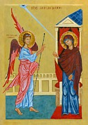 Annunciation Originals - Icon of the Annunciation by Juliet Venter
