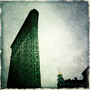 Nyc Digital Art Metal Prints - Iconic Architecure Metal Print by Natasha Marco