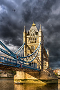 Victorian Architecture Prints - Iconic London - Tower Bridge Print by Mark E Tisdale
