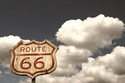 Route66 Prints - Iconic Route 66  Print by Carter Jones