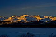 Jeremy Rhoades - Icy Alpenglow