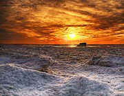 Nick Zelinsky - ICY BAY SUNSET