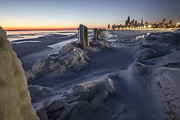 Sven Brogren - Icy Chicago lakefront...