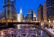 Jeff Lewis - Icy Chicago River