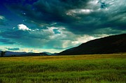 Green Clouds Prints - Idaho Beauty Print by Jeff  Swan