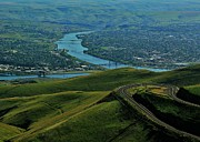 Lewiston Prints - Idaho Highway Print by Benjamin Yeager