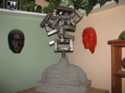 Bust Sculptures - Identity Crisis 03 by Peter Piatt