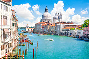 Accademia Prints - Idyllic Venice Print by JR Photography