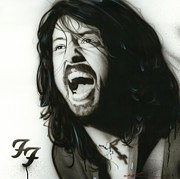 Dave Grohl Paintings - If Everything Could Ever Feel this Real Forever by Christian Chapman Art