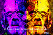 Sizes Posters - If I Cannot Satisfy The One I Will Indulge The Other 20130718 text Poster by Wingsdomain Art and Photography