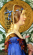 Images Of Women Framed Prints - If One Could Have That Little Head of Hers Framed Print by Eleanor Fortescue Brickdale