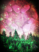 Absinthe Art By Michelle LeAnn Scott - If The Sky Was Pink...