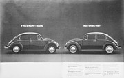 Volkswagen Beetle Posters - If This is the 1971 Beetle.............. Poster by Nomad Art And  Design