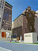Hip-hop Paintings - If You Dont Know Now You Know by Scott Listfield